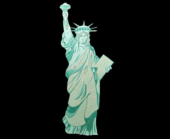 Monte Carlo Productions Statue Of Liberty Cut Out