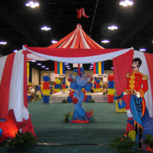 Carnival and Circus Theme Party