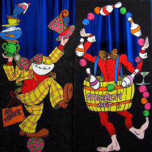 Circus Clown Stand-In