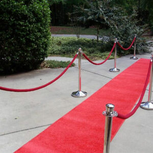 Broadway Red Carpet and Stanchions