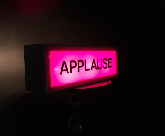 Applause Sign Monte Carlo Productions