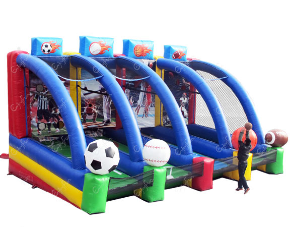 4 in 1 Inflatable Sports Game for team building