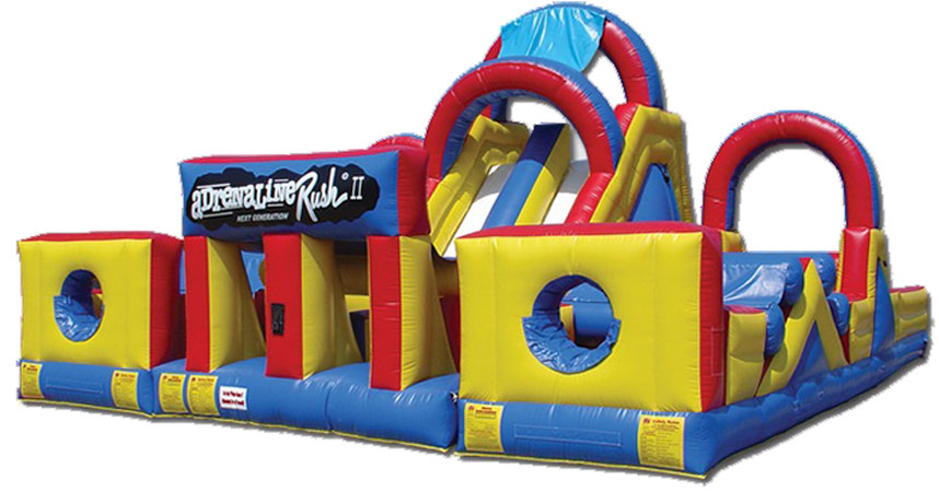 Adrenaline Rush Inflatable Game for team building