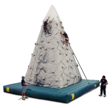 Inflatable Rock Climbing Game for team building