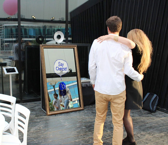 Photo Booth Rental | Mirror Photo Booth Rental | Monte Carlo